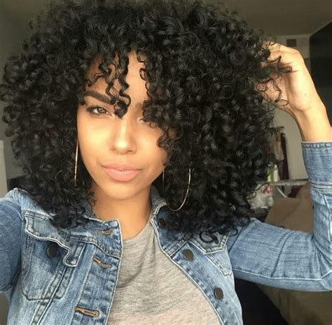 Black curly hair shared by sunflowers1141 on we heart it