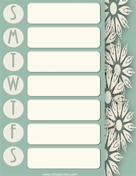 make weekly calendar weekly calendar maker create free custom calendars