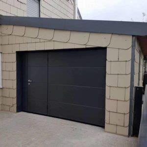 moos porte garage porte moos noir le fenestron