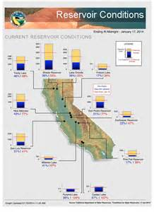 california reservoirs map california reservoir levels to date 2016