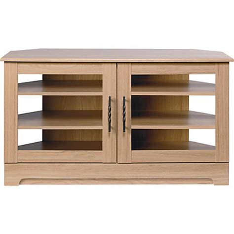 entertainment shelving units malvern corner entertainment unit oak at homebase be