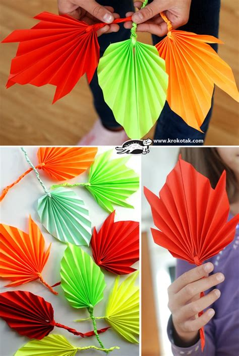How To Make Fall Leaves Out Of Paper - 15 diy decor ideas for fall leaves