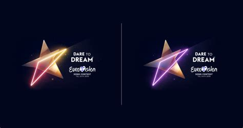 reaching for the stars theme artwork for eurovision 2019