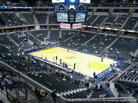 nepa section 101 bankers life fieldhouse section 103 seat views seatgeek