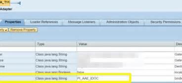 sap jra tutorial idoc aex error illegal type of handler encountered