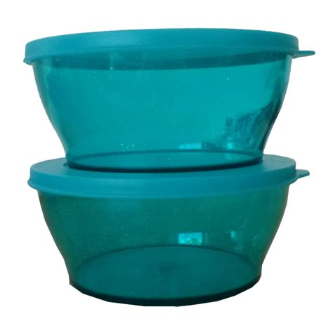 tupperware sparkling clear bowl 2 990ml tupperware