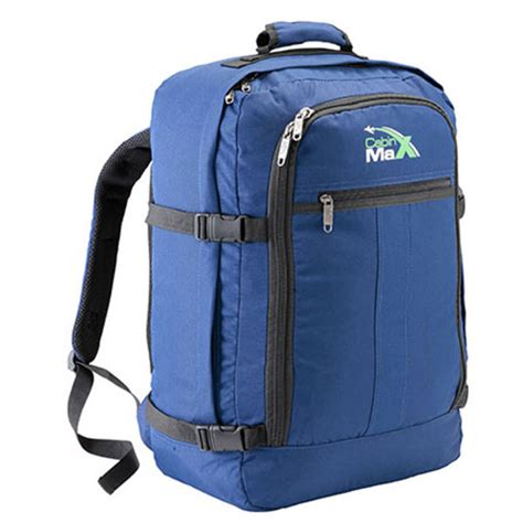 cabin max backpack cabin max 44l backpack blue iwoot