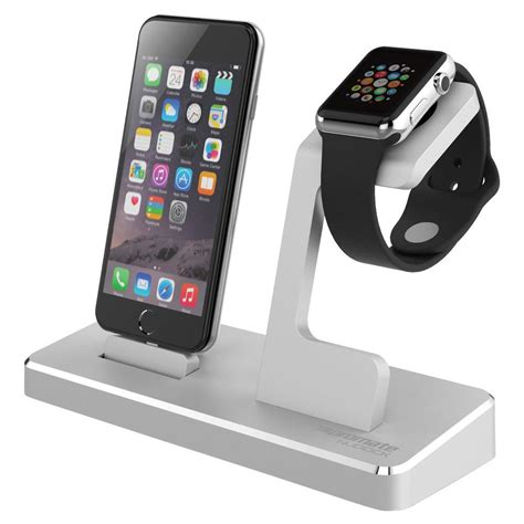 promate nudock 3 in 1 lightning iphone wireless iwatch charging dock stand ebay
