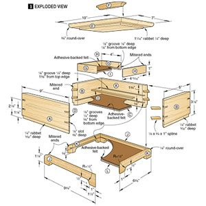 woodwork woodworking projects hidden compartments  plans