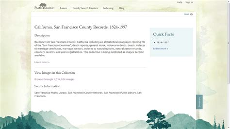 San Francisco County Marriage Records Genea Musings Familysearch Has Lots Of San Francisco County Records