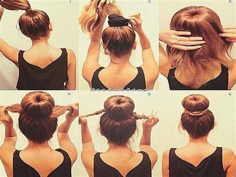 easy updos for medium length hair step by step hair