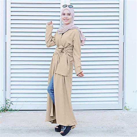 Top Atasan Wanita Blouse Pendek Navy Green Maroon modern wrap cardigan malaysia best shopping fashion boutique with clothes shoes