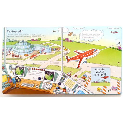 usborne look inside an airport flap book babyonline