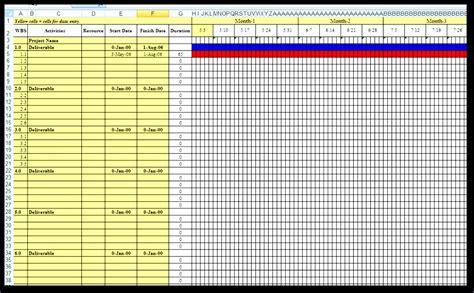 gantt chart excel template 2012 8 excel gantt chart template 2012 exceltemplates