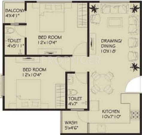 900 sq ft apartment floor plan 900 sq ft 2 bhk 2t apartment for sale in vastu developers