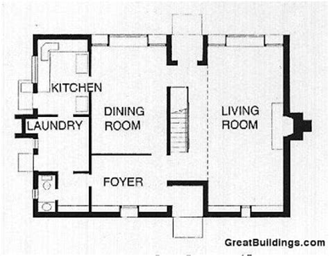 esherick house floor plan wolf residence servant and served spaces