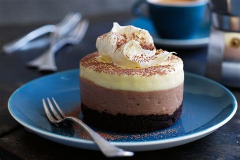 Ultra Milk Mimi Chocolate 125ml layered chocolate cheesecakes