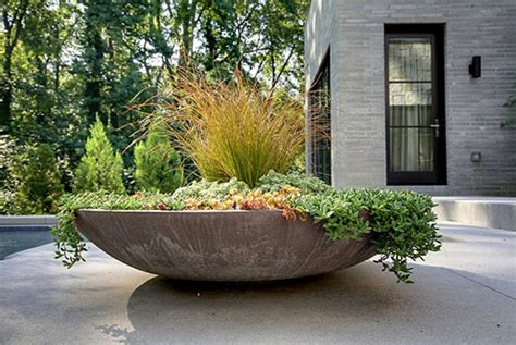 outdoor planters large large outdoor pottery planters modern patio outdoor