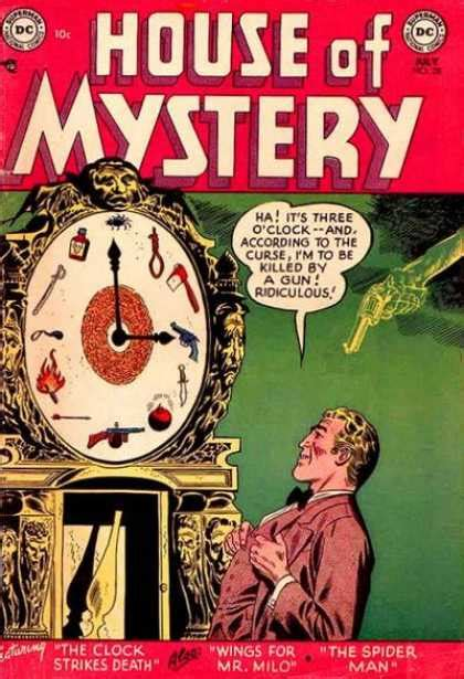house of mystery house of mystery covers