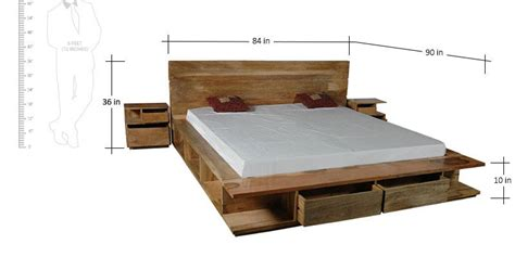 bedside table height relative to bed buy santiago solid wood king size bed with storage with