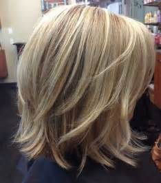 meidum hair cuts back veiw back view medium length stacked bob hairstyles 2015