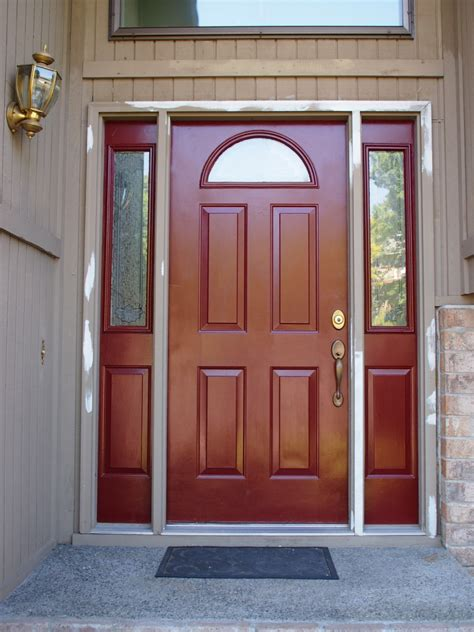 Front Exterior Doors For Homes Painting Our Front Door Progress Not Perfection