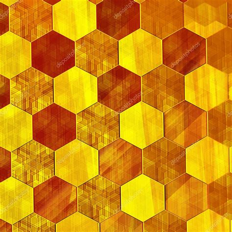 background pattern hive abstract gold background modern design warm yellow
