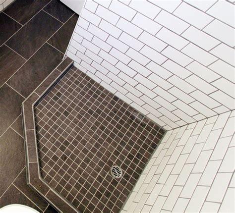 diy bathroom renovation how to build a custom tiled shower base budget breakdown for 40x40 shower