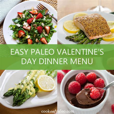 easy valentines day meals easy paleo s day dinner menu gluten free paleo