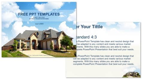 house themes for powerpoint architecture home real estate ppt templates