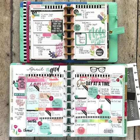 2019 Mini Happy Planner by Happy Planner 174 Mini Weekly Classic Monthly Pages Of