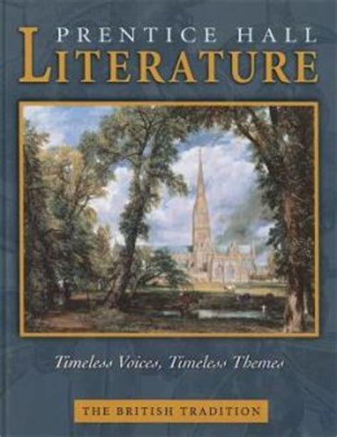 major themes in british literature prentice hall literature timeless voices timeless themes