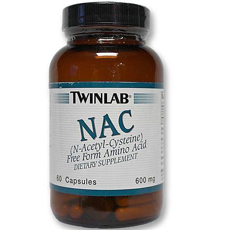 Suplemen Twinlab Twinlab Nac N Acetyl Cysteine 60 Capsules Evitamins