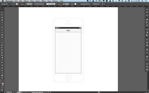 iphone wireframe template illustrator wireframing with illustrator and indesign