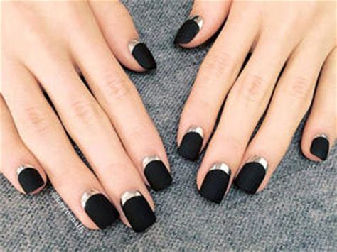 Black Collection Nail Sticker Stiker Kuku Warna Hitam Only 01 creative nails ideas for nails more