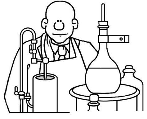 dibujos para colorear de cientificos georgewashingtoncarver dibujo de negrito cientifico