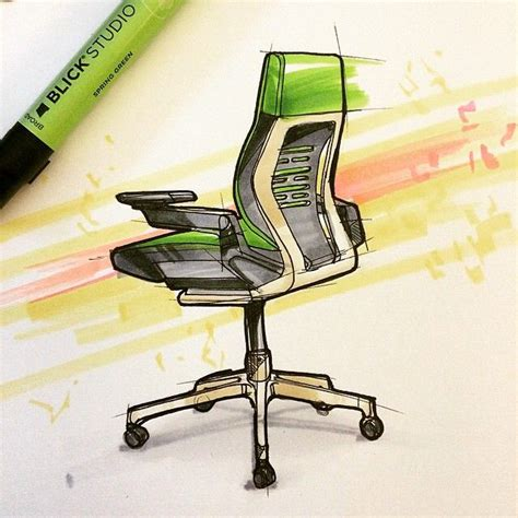 industrial design instagram accounts a wonderful sketch of our gesture chair by industrial