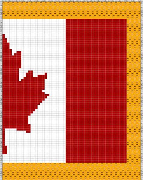 winnipeg pattern model works canada knit a canadian flag free pattern
