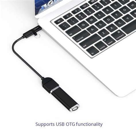 Tronsmart Kabel Micro Usb To Usb Type C 1m Cc08 Berkualitas tronsmart ctmfl type c m to micro f adapter for type c