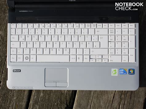 Keyboard Laptop Fujitsu review fujitsu lifebook a530 notebook notebookcheck net reviews
