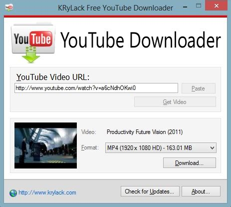 download youtube just add to url free youtube downloader krylack software