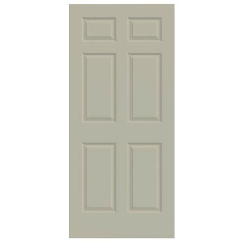 Masonite Cheyenne Interior Doors Masonite 36 In X 80 In Cheyenne Smooth 2 Panel Camber Top Plank Hollow Primed Composite