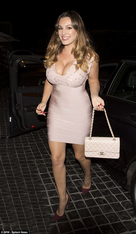 beautiful mail kelly brook slips into very sexy dress for night out in