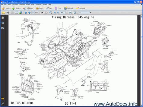Nissan Forklift P Frame Plp Order Amp Download