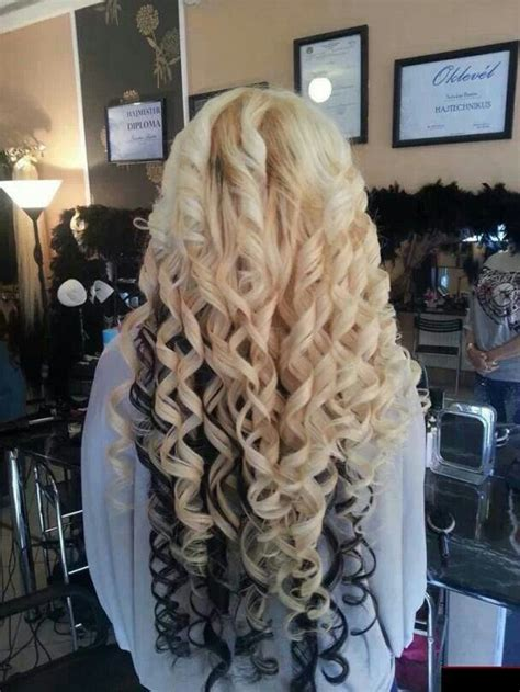 spiral curls waterfall braid cute girls hairstyles 17 best images about spiral curls on pinterest spiral