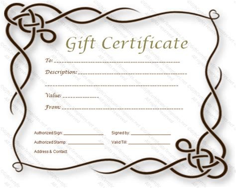 fancy certificate template template gift certificate search results calendar 2015