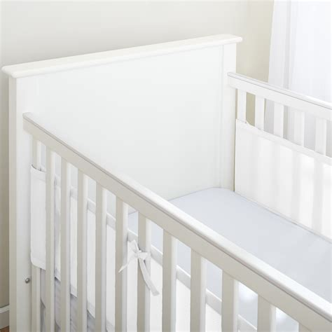 breathablebaby 174 classic mesh liner for solid end cribs