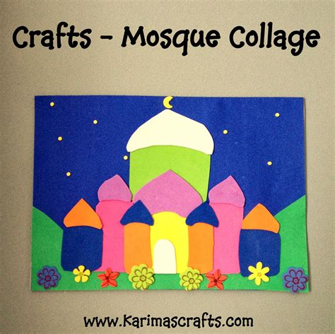 craft activity for karima s crafts 30 days of ramadan crafts roundup