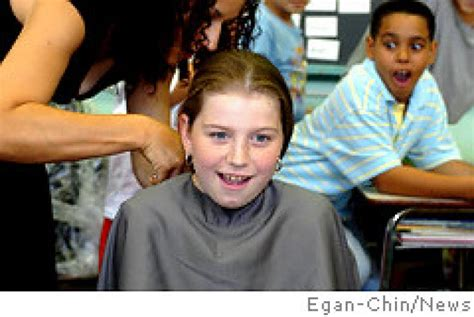jacqueline wood wear hair extensions ps 112 students shed their locks for charity ny daily news