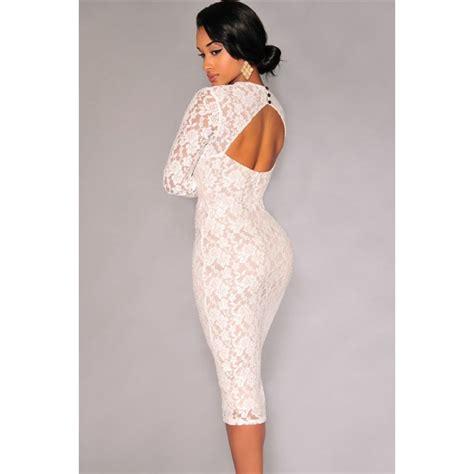 Robe Bustier Dentelle Blanche - la robe moulante blanche sur bustiers et corsets